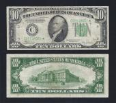 SM FRN $10.00 STAR 1934C Philadelphia VF. Stock # S1024C