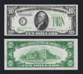 SM FRN $10.00 1934A Philadelphia Choice Unc. Stock # S1020C